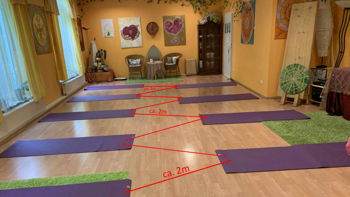 Yogaraum im Atlantis